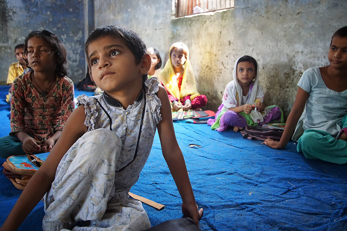 Photo by Nitin Gera for Goodweave India community outreach initiative