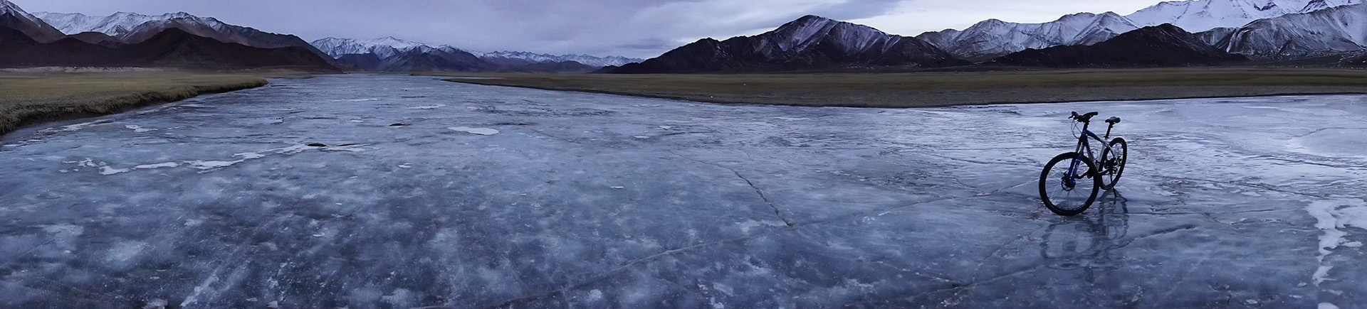 Ice Cycling in Ladakh photo by Nitin Gera